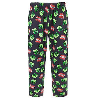 Minecraft Creeper TNT Men's Lounge Pants