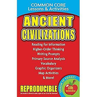 Civilisations anciennes - leçons de base commun & activités