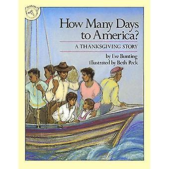 Combien de jours en Amérique?