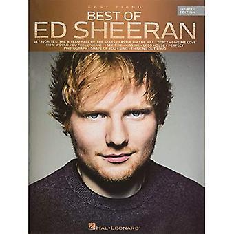 Bästa av Ed Sheeran (uppdaterad upplaga) lätt Piano bok