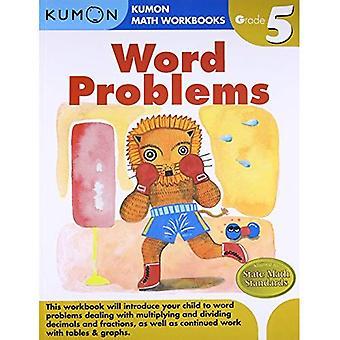Word Problems, Grade 5 (Kumon Math Workbooks)