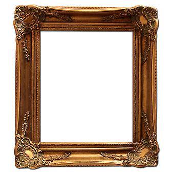 25 × 30 cm または 10 × 12 インチ、金のフォト フレーム