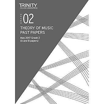 Trinity College London: Past Papers: Theory (May 2017) Grade 2