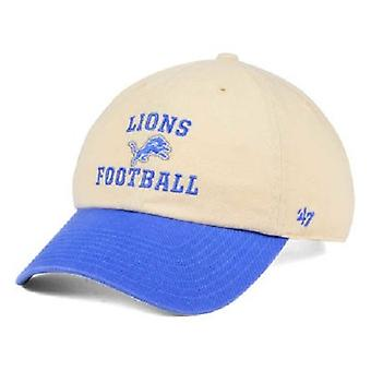 Detroit Lions NFL 47 Brand Steady Two Tone Adjustable Hat