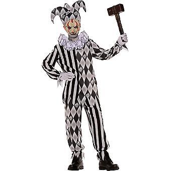 Zombie Harlequin Child Costume