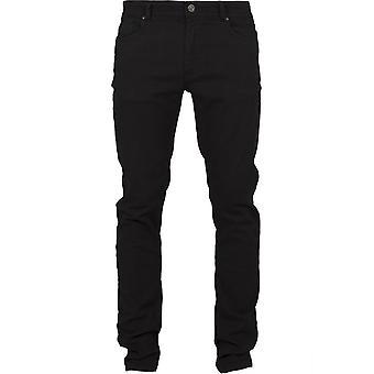 Urban klassikere menns bukser grunnleggende strekk Twill 5 Pocket