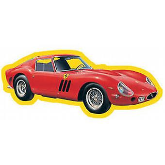 Ferrari 250GTO die cut shaped metal fridge magnet