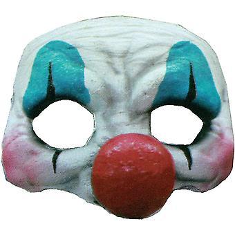 Happy Clown Latex Halbmaske für Halloween