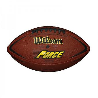 Wilson NFL Force American Football Ball Tan Official Size