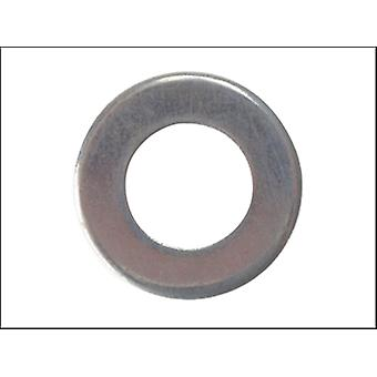 Forgefix Flat Washer Heavy-Duty Zp M8 Bag 100
