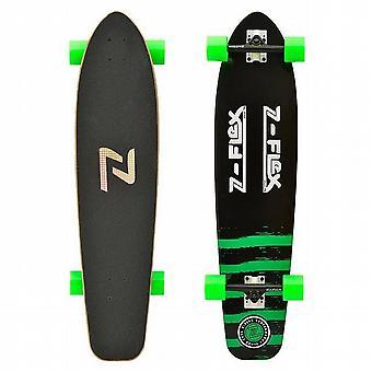 ZFLEX Kicktail Longboard verde-ZFXL0013
