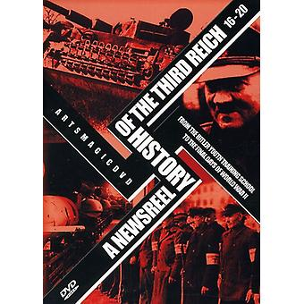 Newsreel History of the Third Reich [DVD] USA import
