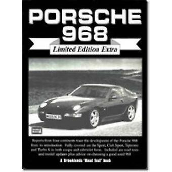 Porsche 968 (Limited edition) by R. M. Clarke - 9781855205901 Book