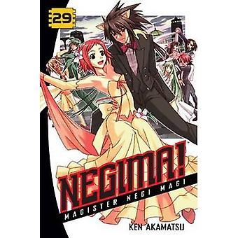 Negima! 29 - Magister Negi Magi by Ken Akamatsu - 9781935429562 Book