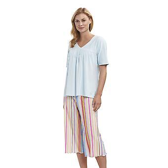 Feraud 3191288-16397 Women's High Class Multicolour Stripe Cotton Loungewear Set
