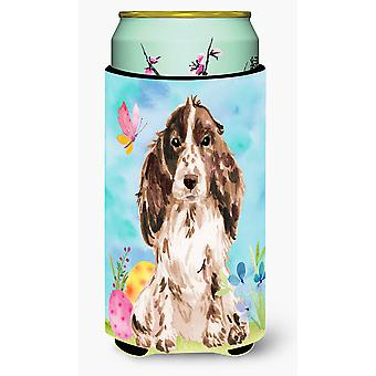 Brown Parti Easter Tall Boy Beverage Insulator Hugger