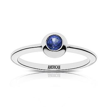 American University American Incisa Sapphire Ring