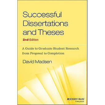 Succès mémoires et thèses - un Guide pour obtenir leur diplôme d'étudiant Rese