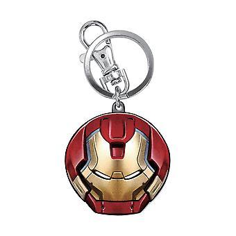 Metal Key Chain - Marvel - Hulkbuster Head New Licensed 68259