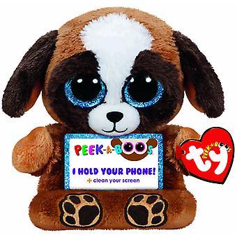 TY Peek-A-Boos Pups Dog Phone Holder Gosedjur Mobilställ
