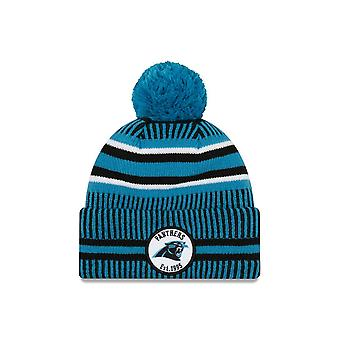 New Era On Field Sport Knit Hm Beanie ~ Carolina Panthers