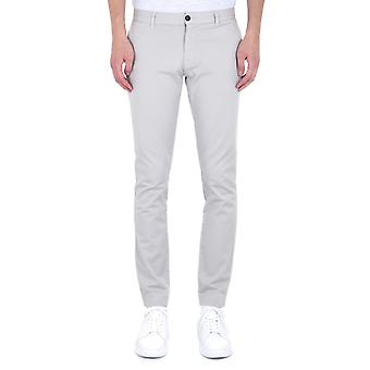 Emporio Armani Slim Fit Stone Grey Chinos