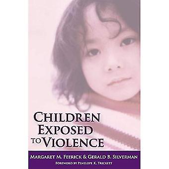 Kinderen blootgesteld aan geweld