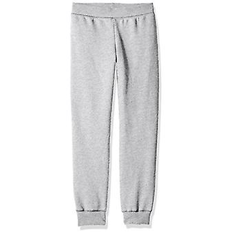 Hanes Big Girls' Comfortsoft Ecosmart Fleece Jogger, Light Steel, Size X-Large