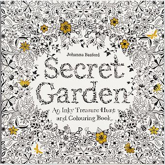 Chronicle Books-Secret Garden Coloring Book CH-67106