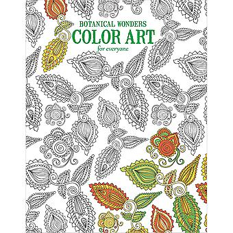 Leisure Arts-Botanical Wonders Color Art LA-6764