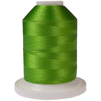 Rayon Super Strength Thread Solid Colors 1100 Yards Emerald 300S 2214