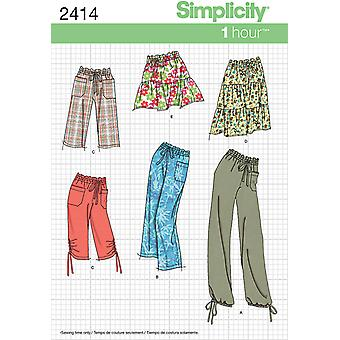 Simplicity Misses Skirts Pants 16 18 20 22 24 U02414u5