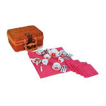 Legler Picnic Basket  breakfast  (Toys , Home And Professions , House , Kitchenware)