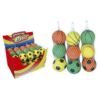 Sport One 3 Soft Balls 75 Mm. (Garden , Games , Balls)