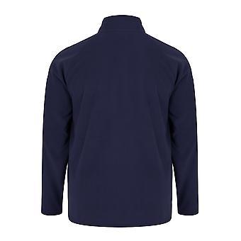 BadRhino Navy Zip hals Micro Fleece