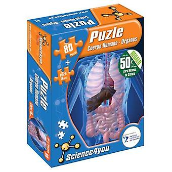 Science 4 You Puzzle human body-Organs (Toys , Boardgames , Puzzles)