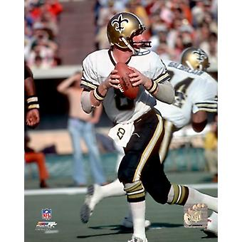 Archie Manning 1978 Action Photo Print