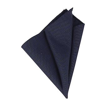 Pattern of society Chico handkerchief Hanky Cavalier cloth Navy Plaid