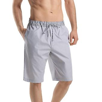 Men's · short grey pants · · · checked · Hanro · Night & Day · 75433