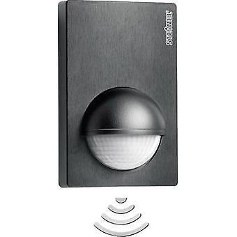 Wall PIR motion detector Steinel 603113 Relay Black IP54
