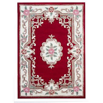 Rød tradisjonelle ull teppe Imperial
