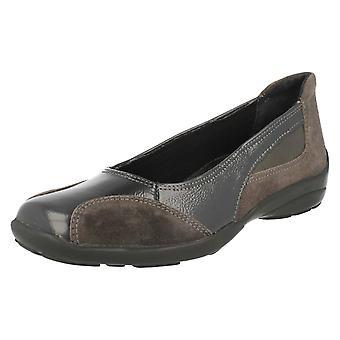 Ladies Easy B Wide Fitting Slip On Shoes Ripon