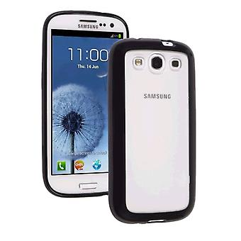 Ventev DuraSHELL Case for Samsung Galaxy S III (Clear/Black)