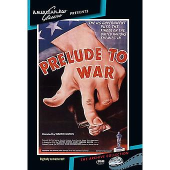 Prelude to War [DVD] USA import