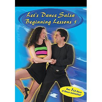 Salsa-begyndelsen lektioner 1 [DVD] USA importerer