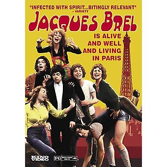 Jacques Brel - Jacques Brel Is Alive & Well & Living in Paris [DVD] USA import