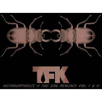 Tusinde fod Krutch - tusinde fod Krutch: Vol. 1-2-Metamorphosiz ende Remixes [CD] USA importerer