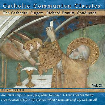 Richard Proulx - katolske altergang klassikere, Vol. 11 [CD] USA importerer