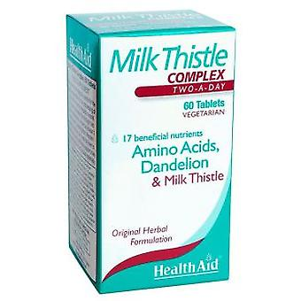 Health Aid Milk Thistle 60COMP Complex. (Erboristeria , Supplementi)