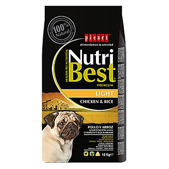 Picart NutriBest Light (Dogs , Dog Food , Dry Food)
